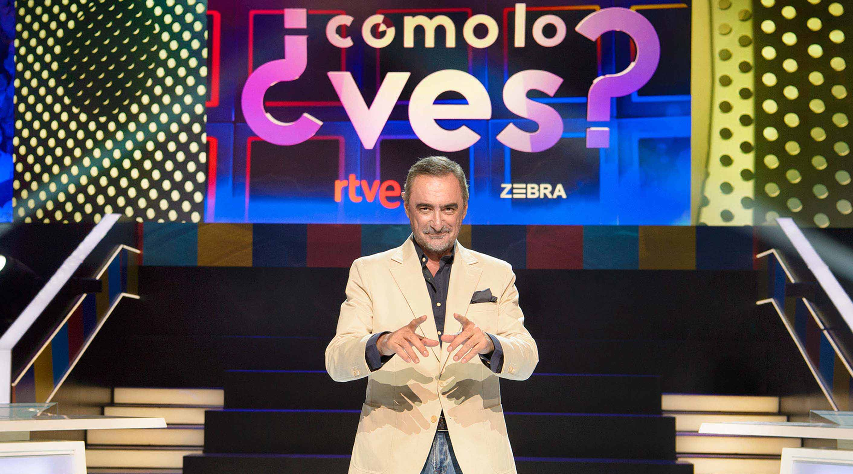 Carlos Herrera will present ¿Cómo lo ves?', A live program in prime time on La 1