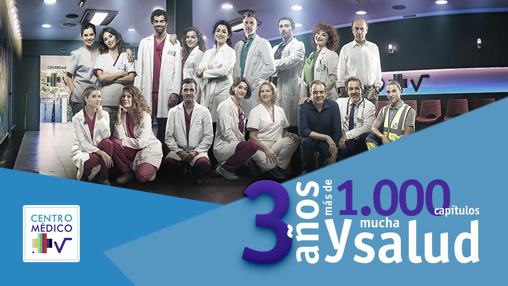 3 años de Centro médico y más de 1000 capítulos enseñando vida saludable con pasión