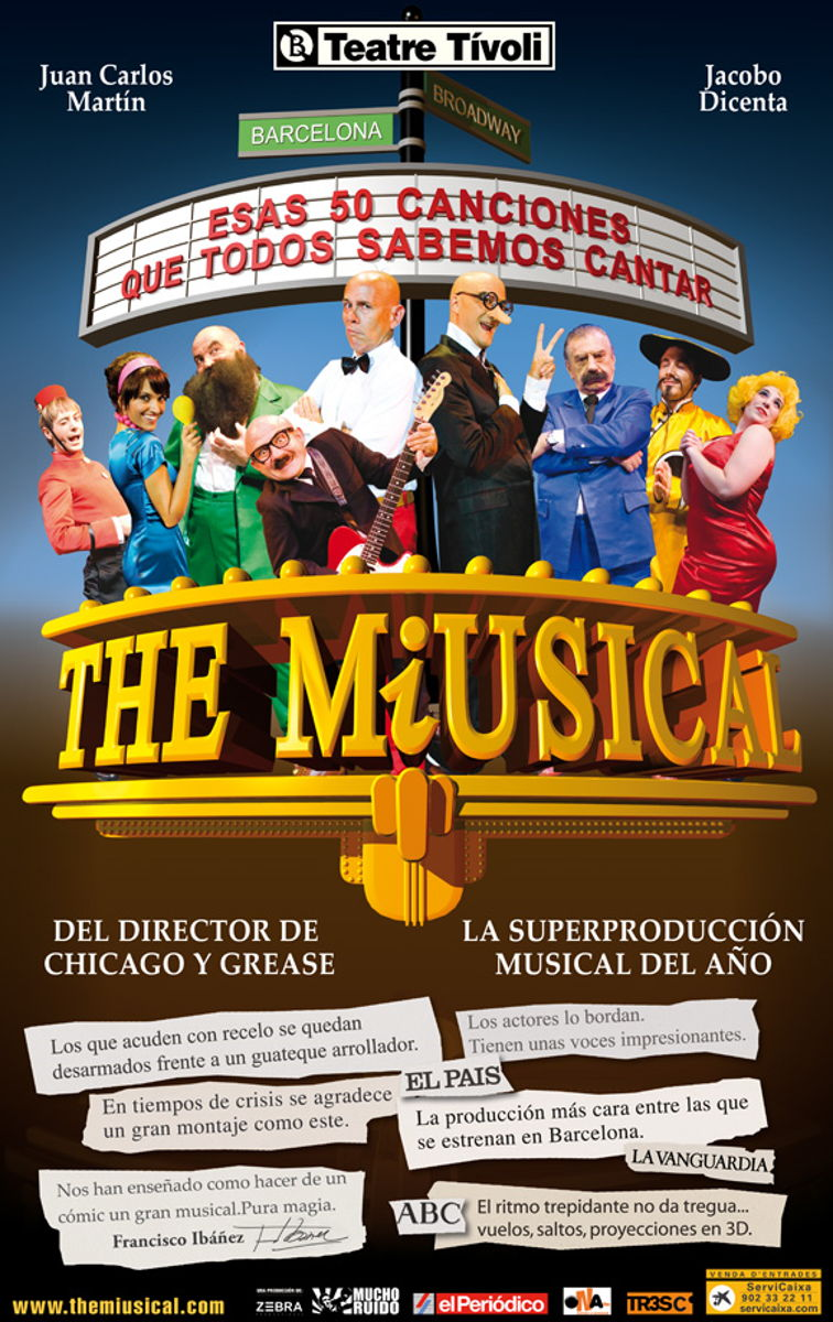 "Estreno mundial de ""Mortadelo y Filemón,The Miusical"""