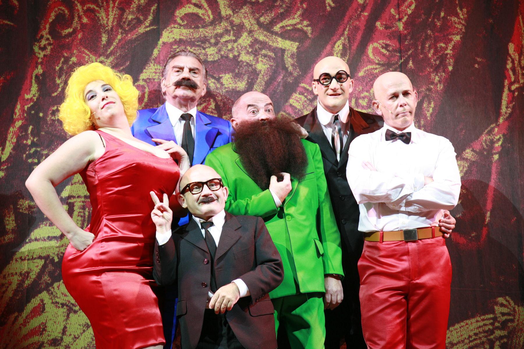 Excelente acogida de Mortadelo y Filemón The Miusical en Barcelona