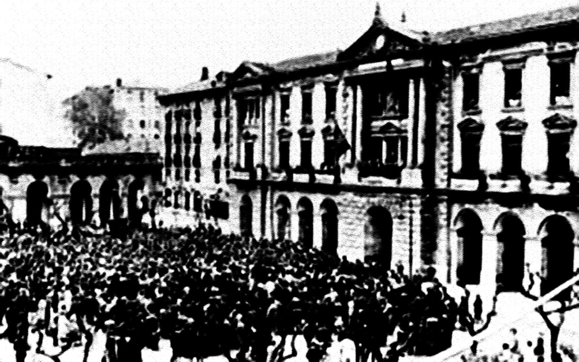 """""""La República que nació en Eibar"""", un documental de Flying Apple para la ETB"""