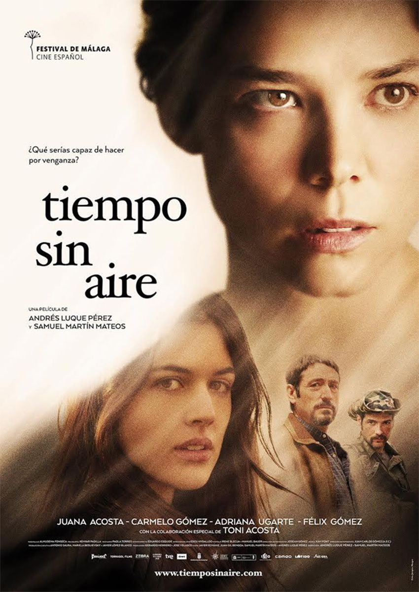 'Tiempo sin aire' will be presented at the official section of Malaga Film Festival